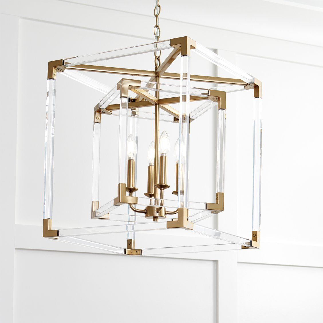 Phoebe Acrylic Chandelier In 2020