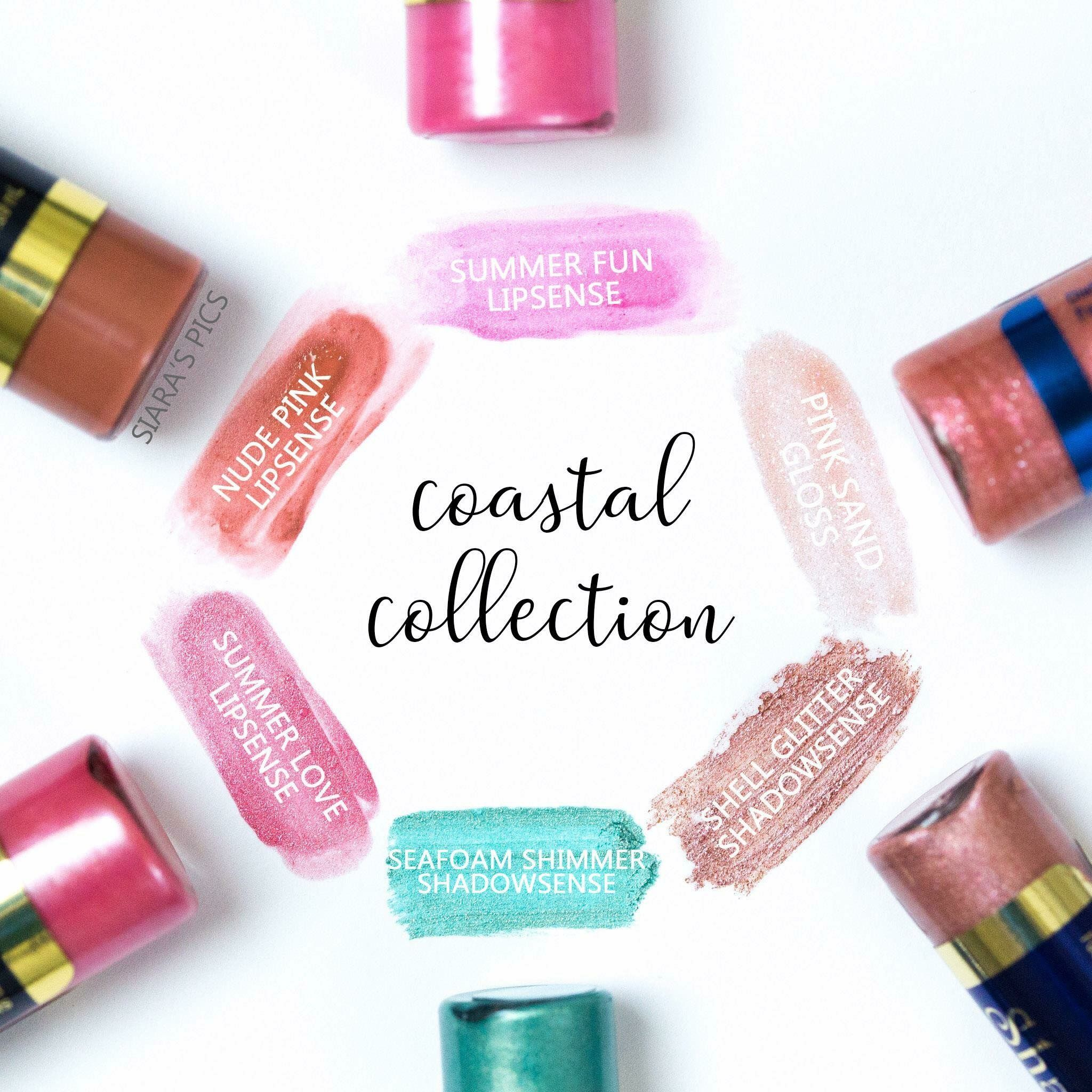 Lipsense Coastal Collection By Senegence Is Perfect For The Summer
