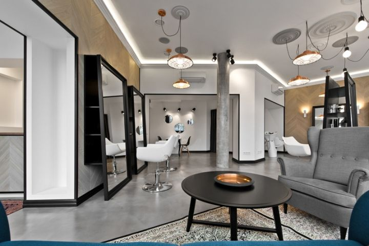 Designing the beauty salon interior needs considerable knowledge ...