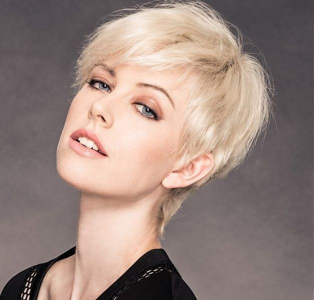 Swell Stylish Short Edgy Hairstyles Pictures For Fine Hair Hairstyles Short Hairstyles Gunalazisus