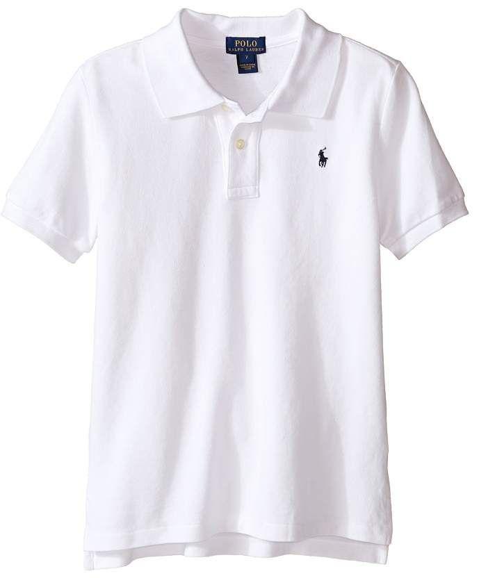 7d98e1ae Polo Ralph Lauren Basic Mesh Polo Boy's Short Sleeve Knit | Products ...