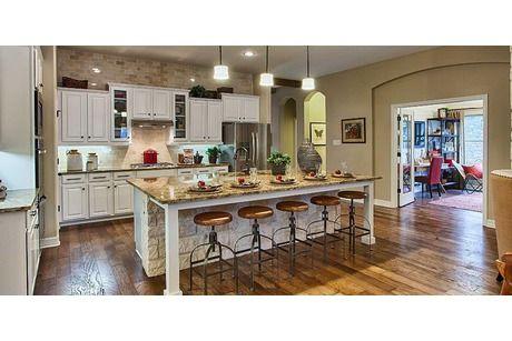 Kitchen Model Homes sanctuaryashton woods homes in helotes, texas | home decor