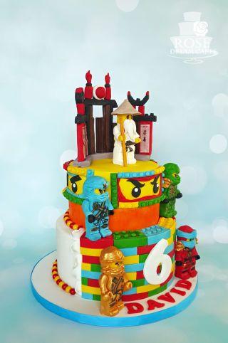 Lego Ninjago Cake | Hoyt likes the most | Ninjago cakes