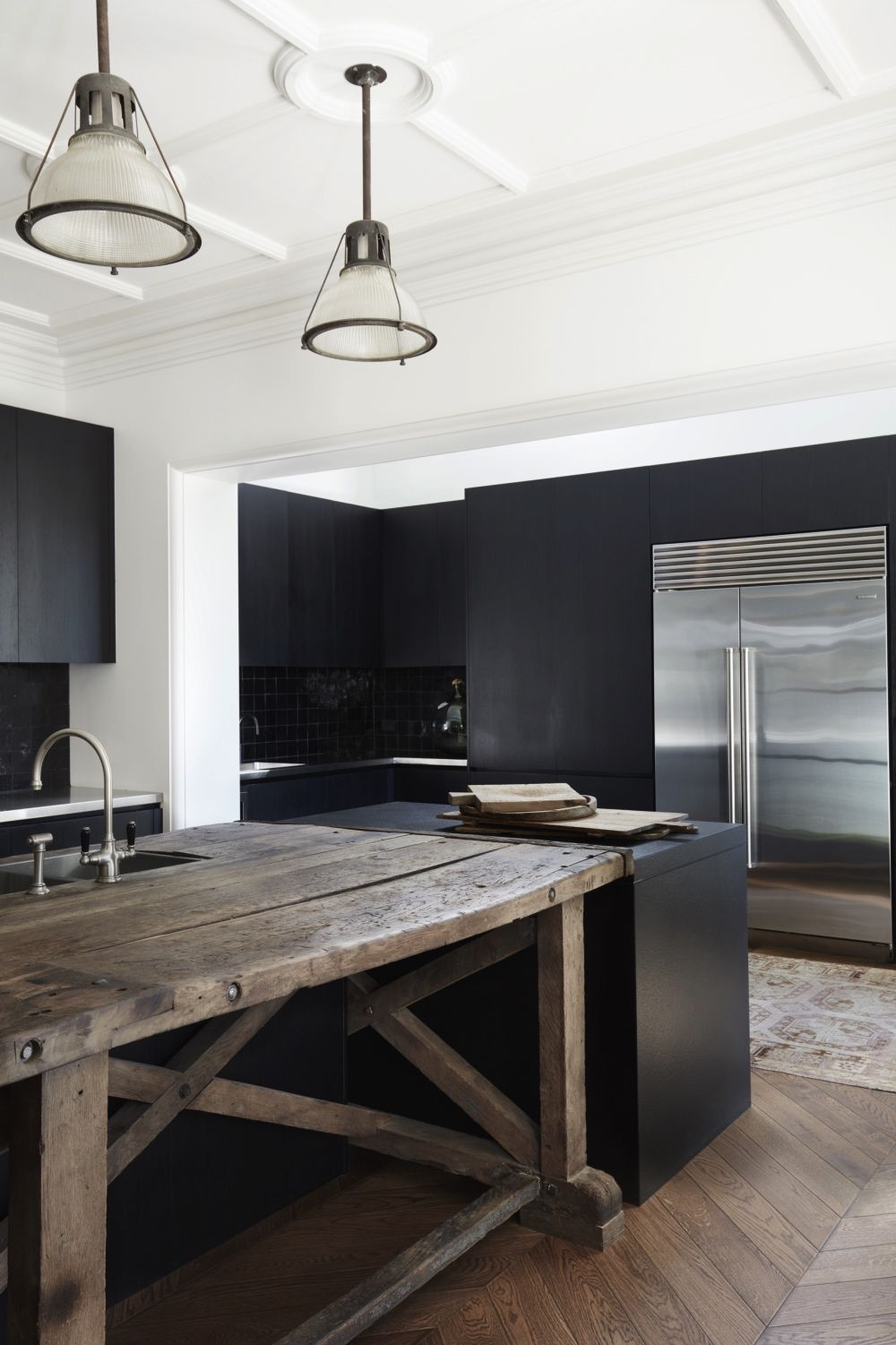 1850's Restoration Turns 3 Apartments Into 1 Home