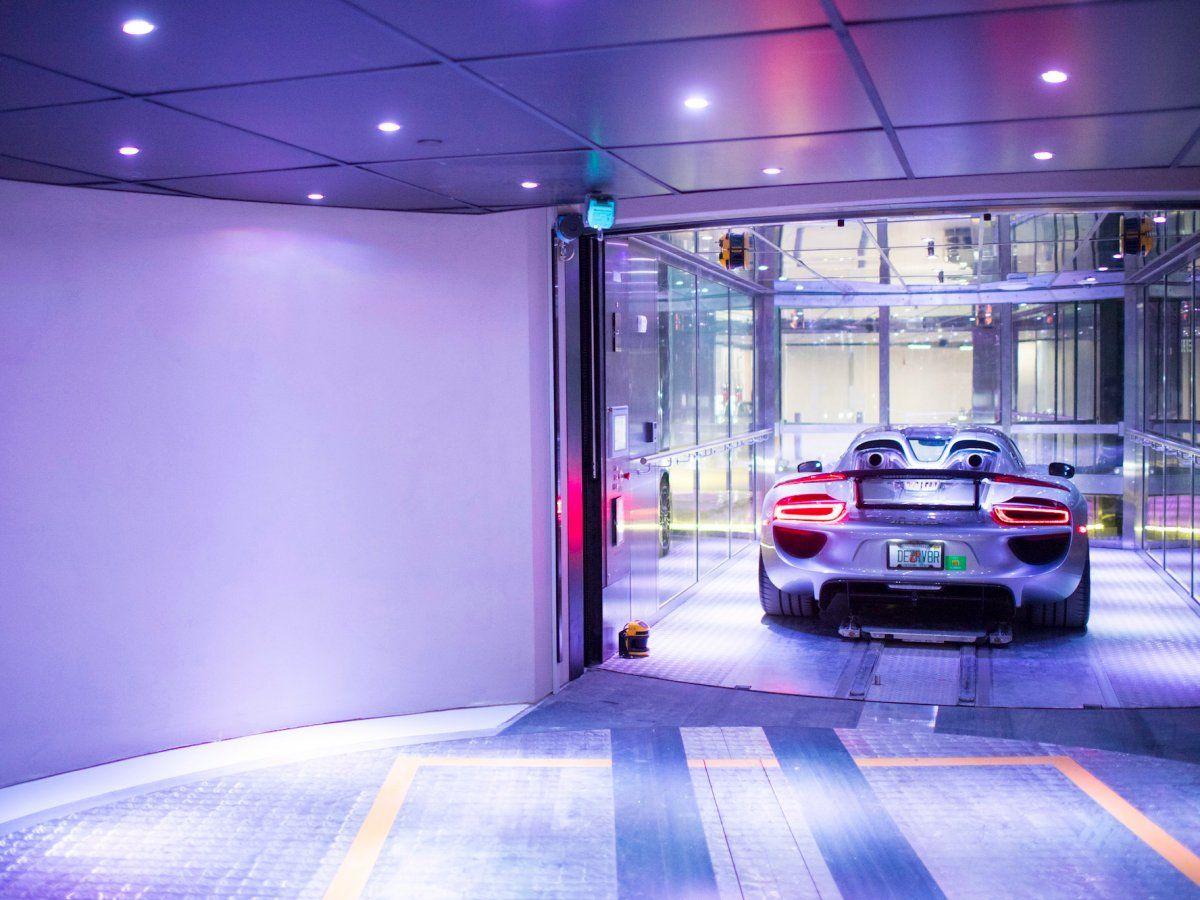 The World S Billionaires Are Flocking To Miami S Luxurious Porsche Design Tower Where They Can Use An Elevator For Their Cars In 2020 Porsche Design Porsche New Porsche