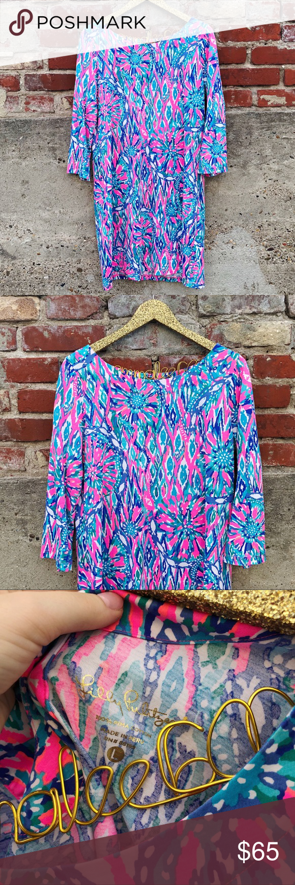 f343a983dcf Lilly Pulitzer Shake it Up Bay Dress Excellent condition