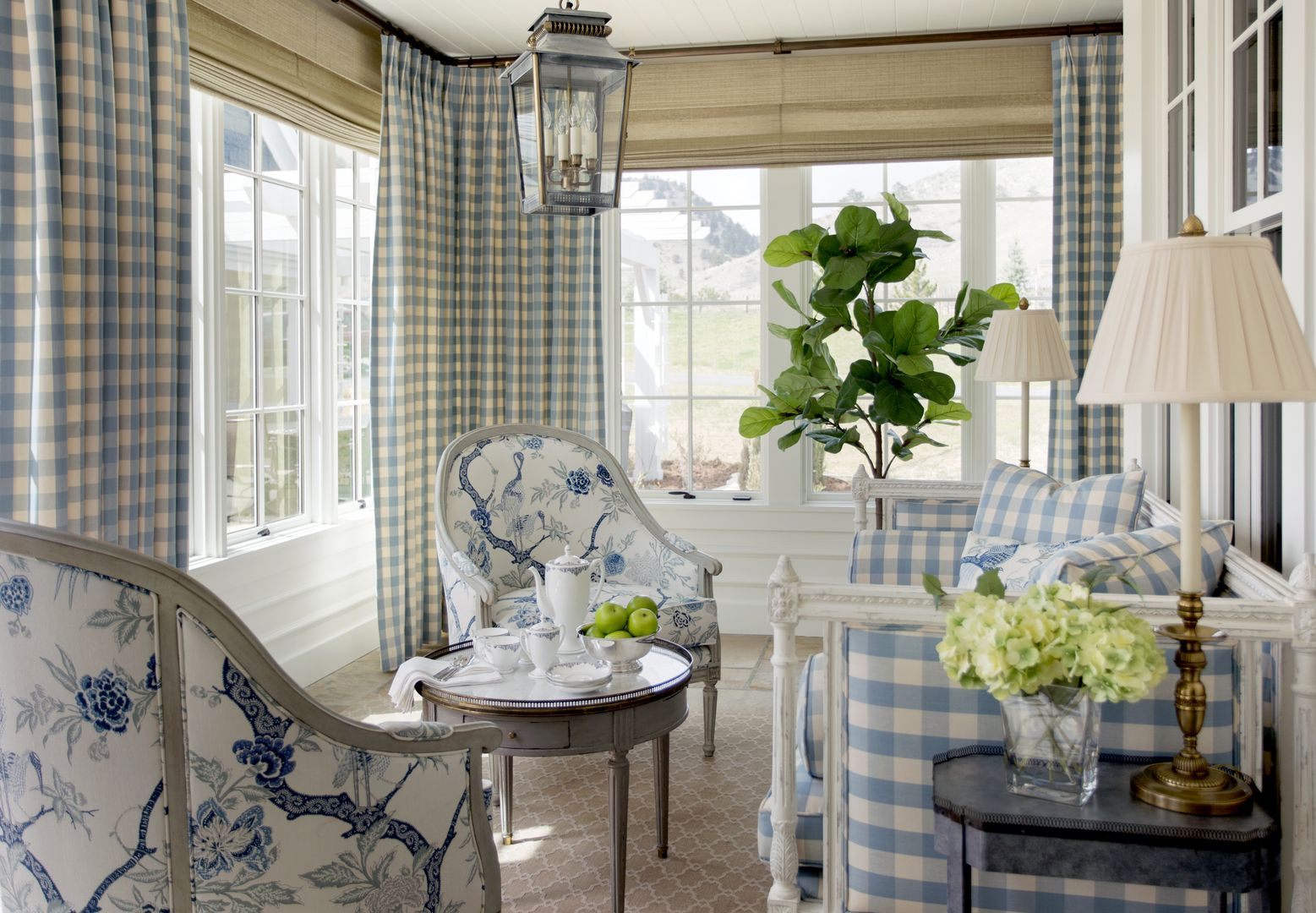 New Construction Of A Traditional Family Home With Classic Southern California Farmhouse Style Interior