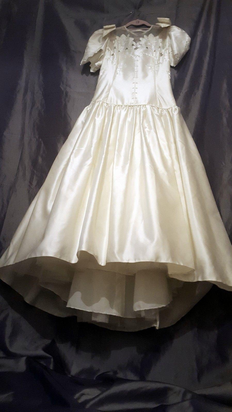 Vintage Ronald Joyce Wedding Dress Size 8 eBay Ronald