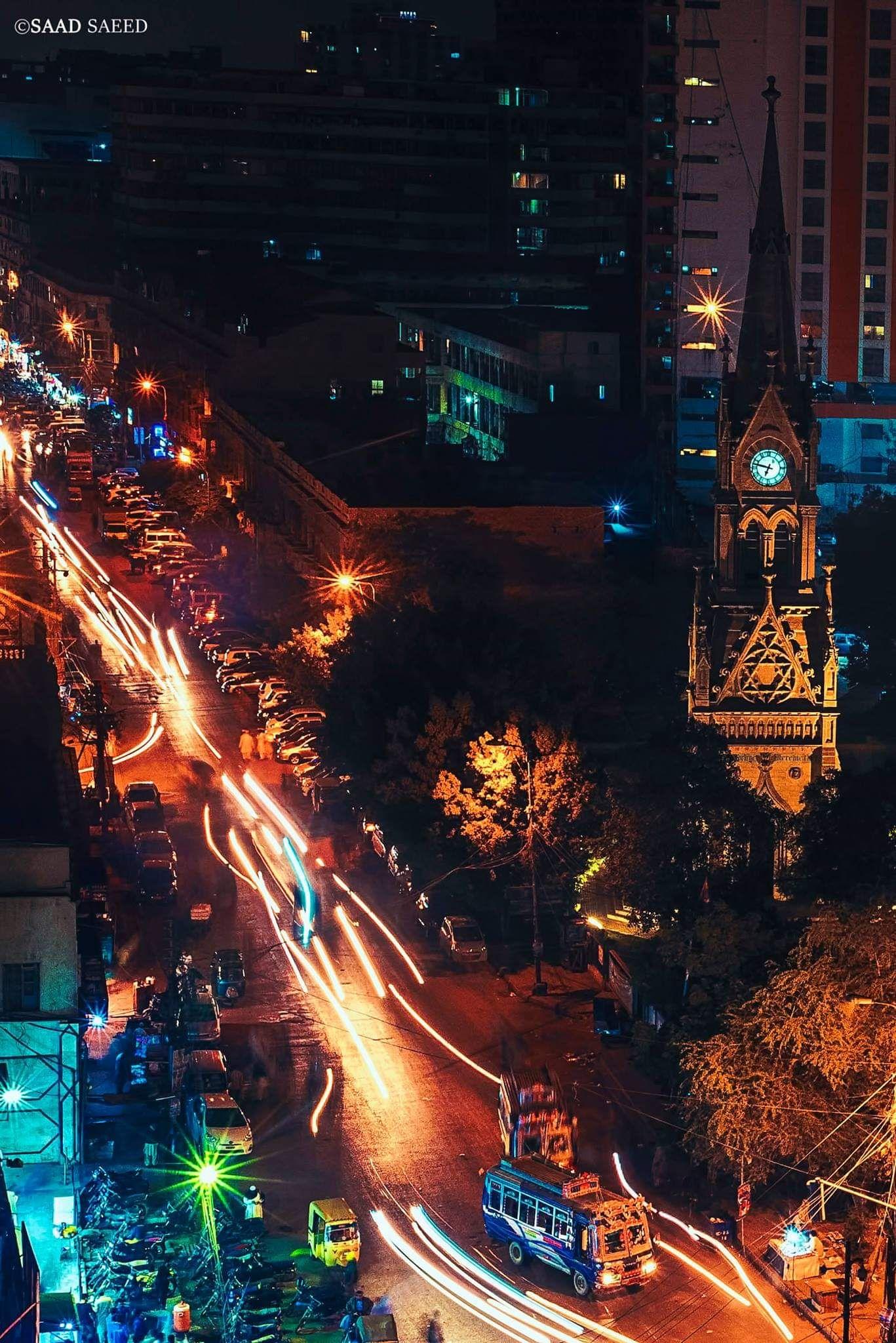 Merewether Clock tower Karachi Pakistan. [3000x2000]