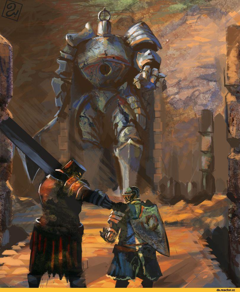 Iron Golemblack Iron Tarkuschosen Undeadds персонажиdark Souls