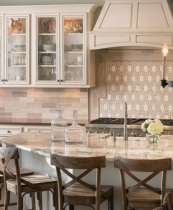 Subway Gray Marble Kitchen Backsplash Tile | Backsplash ...