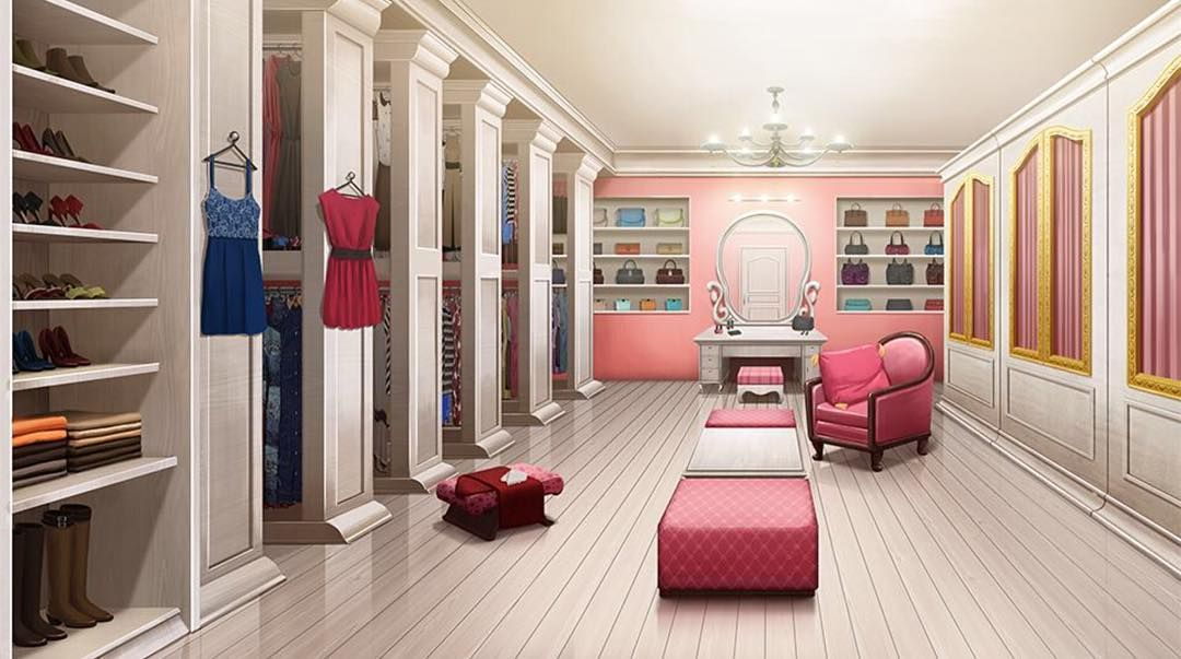 """huge discount 4ee79 b89c0 mss_epy_edit on Instagram: """"Here's a fancy closet interior ..."""