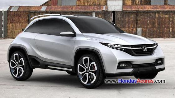 2014 honda hrv crossover another honda crossover planned perhaps a new hr v pinteres. Black Bedroom Furniture Sets. Home Design Ideas