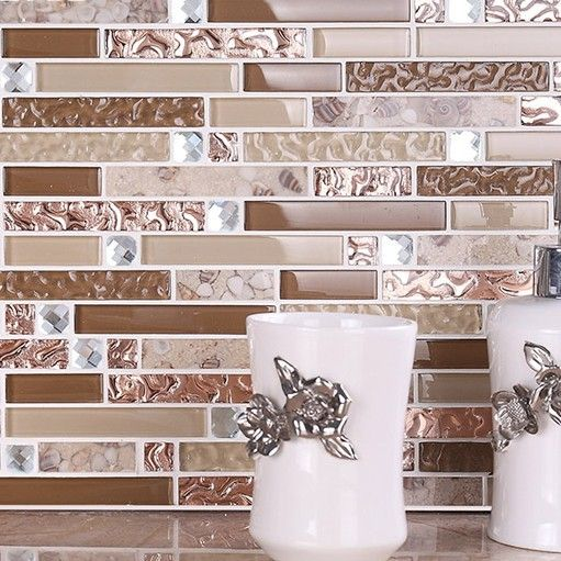 new kitchen backsplash tile glass mother of pearl resin beige brown tile idea bath wall tub area countertop backsplash tilechina mainland