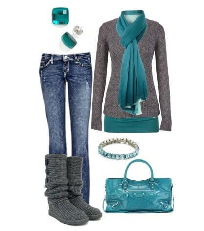 Collection blue Jeans for Winter