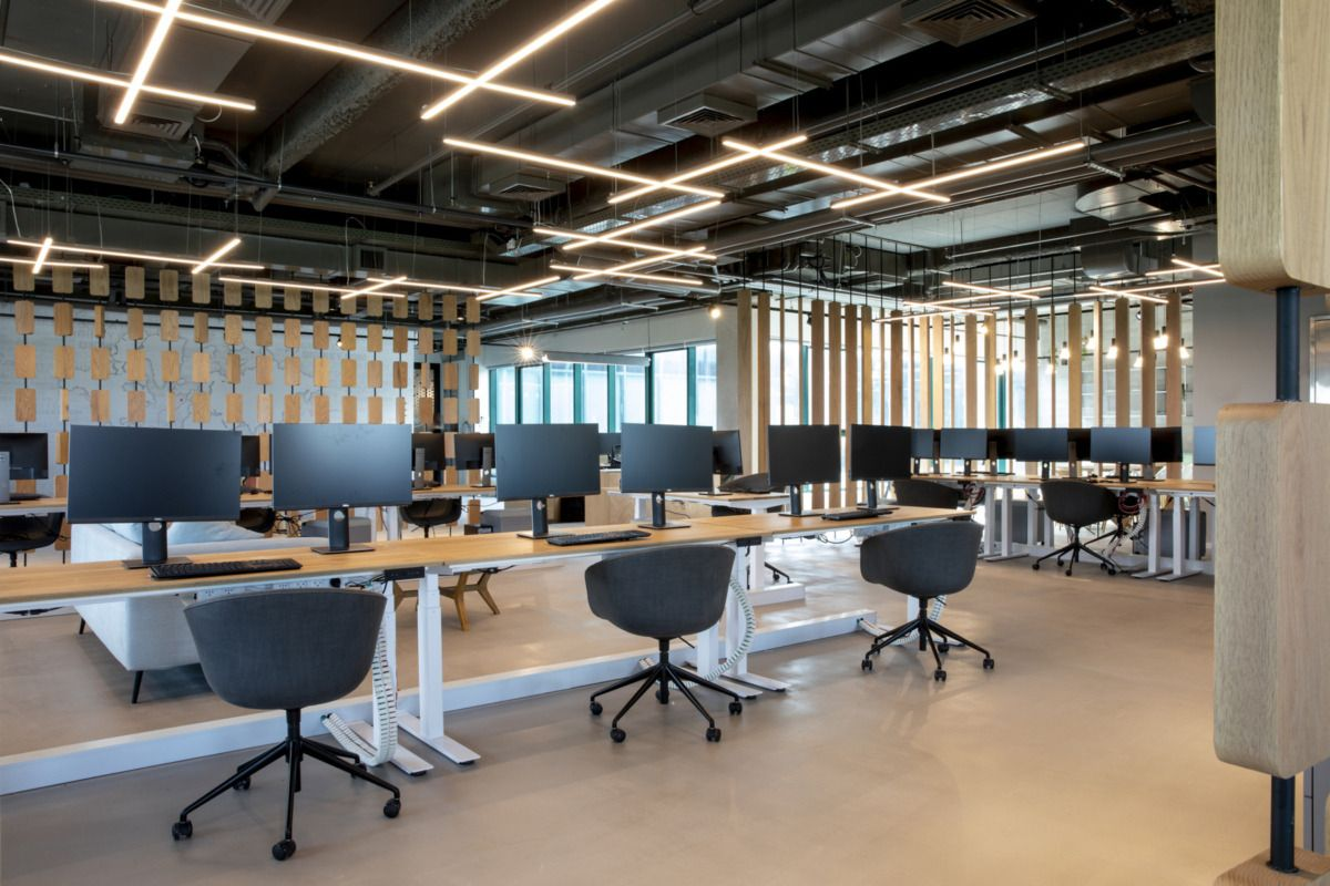 Confidential Electronic Component Distribution Company Offices Petah Tikva Modern Office Design Electronics Components Design Studio Office