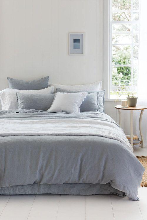 Hampton Linen Duvet Cover Set Online | Shop EziBuy | BEDROOM ... : quilt cover australia buy online - Adamdwight.com