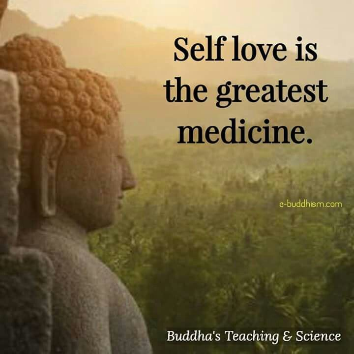 I Love My Self Buddha Pinterest Quotes Buddha Quote And