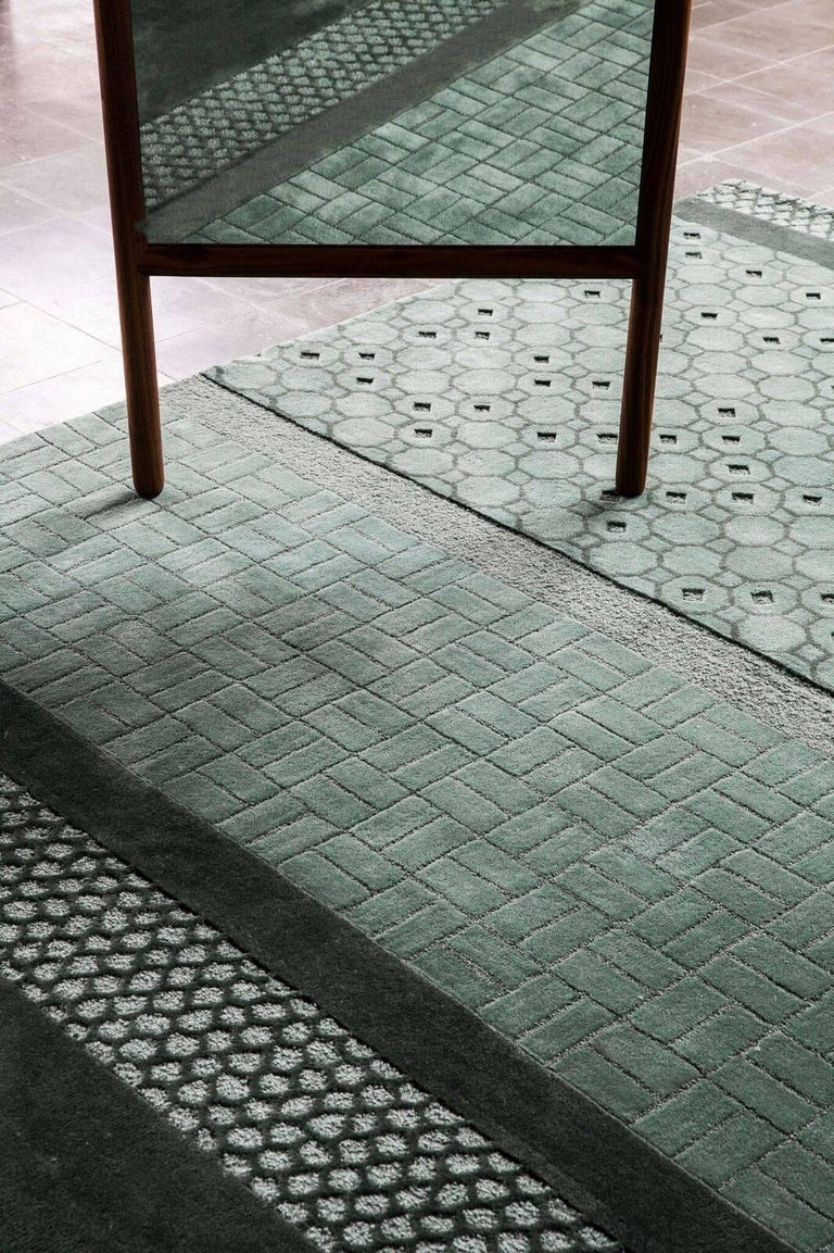 Celadon Jie Hand Tufted Wool Area Rug By Neri And Hu Medium In 2021 Nanimarquina Wool Area Rugs Rugs