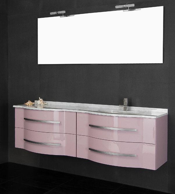 Mobile Bagno Con Doppio Lavabo 180 Cm In 20 Colori Mobili Bagno In Offerta Fino A Fine Mese Doppio Lavabo Mobile Bagno Arredamento Bagno