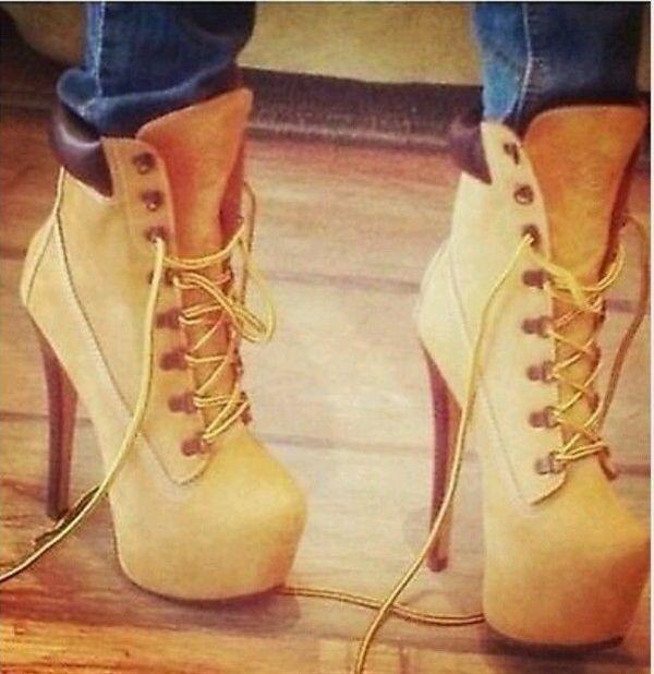 Timberland Stiletto Boots Women