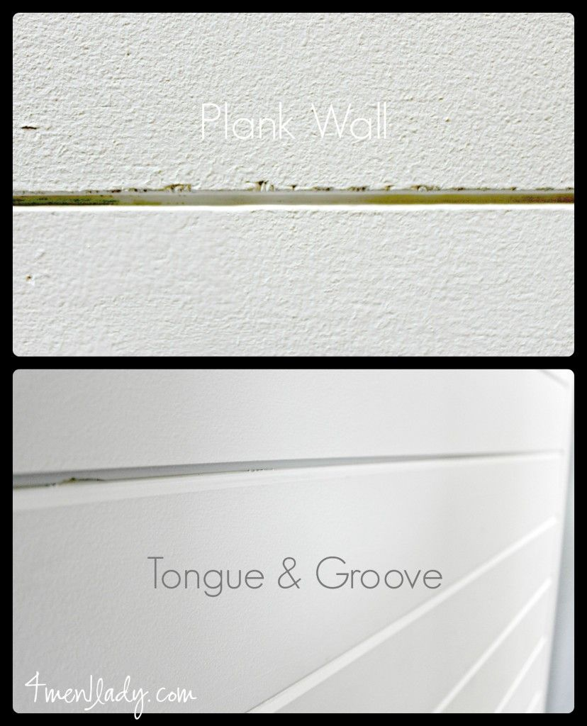 Considering Doing A Plank Wall Read This Before You Do Differences Between Tongue And Groove Vs Plywood Planks 4men1lady