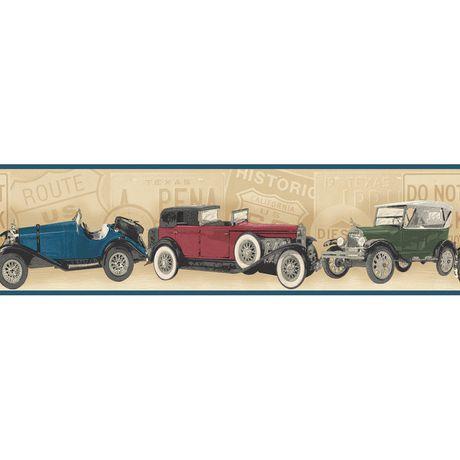 Antique Cars Border Wallpaper Walmart Ca Wallpaper Companies Antique Cars Wallpaper