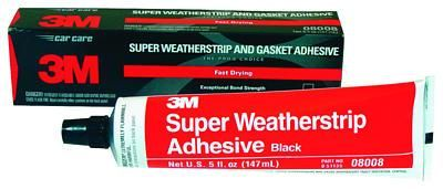 3m 08008 Super Weatherstrip Adhesive 6 Per Case Is A Strong Flexible Rubbery Adhesive That Can Withstand Vibrat Weather Stripping Adhesive Weatherstripping