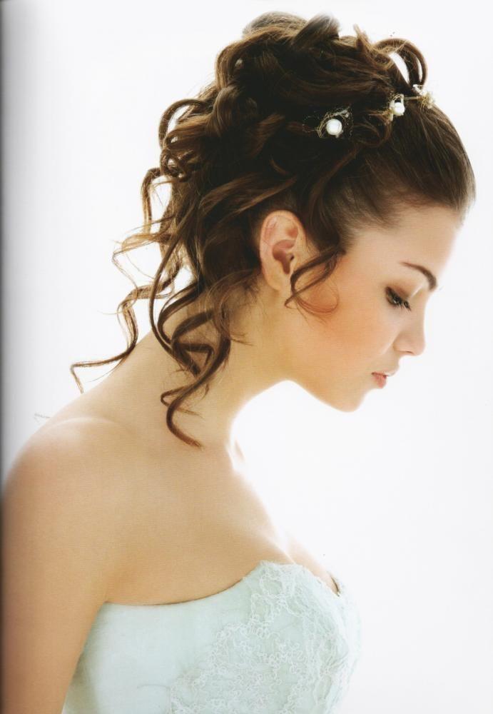 Coiffure mariage glamour recherche google demoiselle d 39 honneur pinterest coiffures - Coiffure de demoiselle d honneur ...