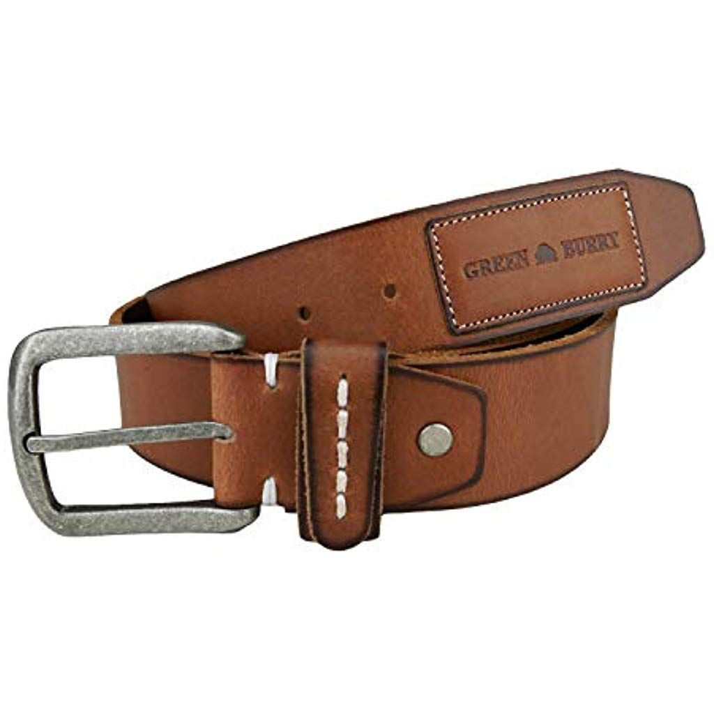 Dark Brown Leather Belts for Men Custom Full Grain Handmade Wide Straps Best Real Personalized