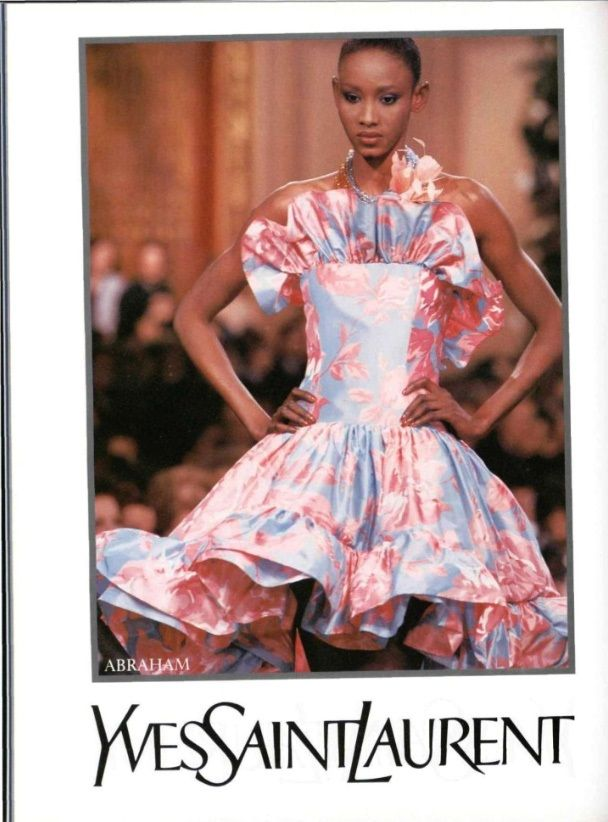 1988 - Yves Saint Laurent couture spring collection