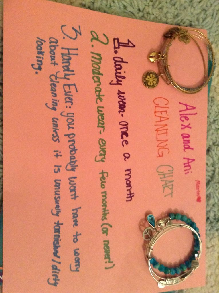 How to Clean Alex and Ani Bracelets. Alex and ani
