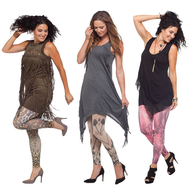 c016b3a9ad442b These Juzo leggings come in a variety of patterns and provide 15-20 mmHg  compression to keep your legs feeling fresh and energized.