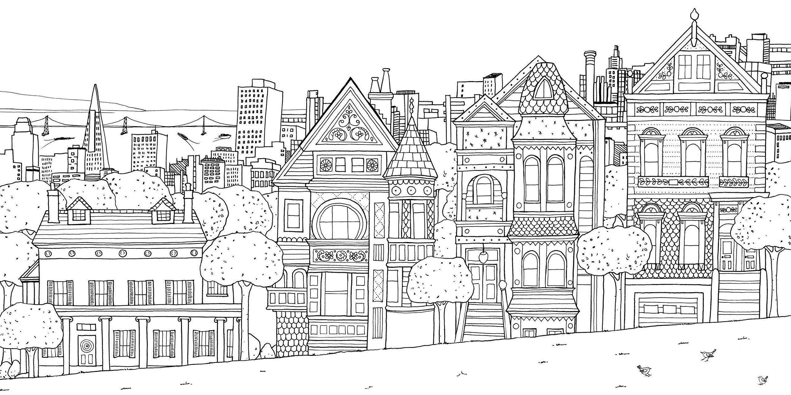 Splendid Cities Color Your Way To Calm Rosie Goodwin Alice