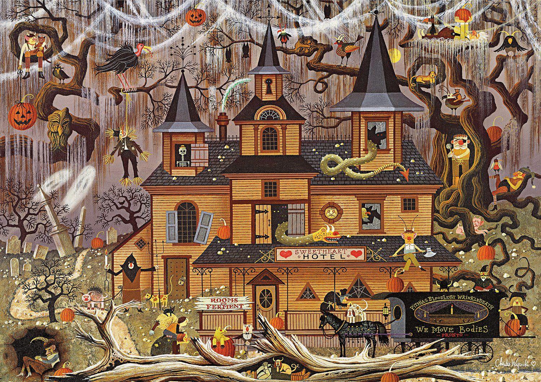 Halloween buffalo games jigsaw puzzles 1000 piece