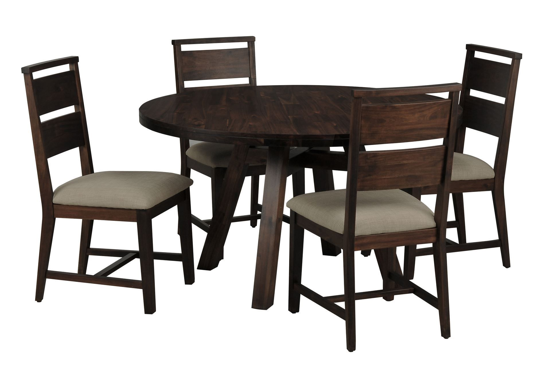 Best Blake Ii 5 Piece Round Dining Set Living Spaces 640 x 480