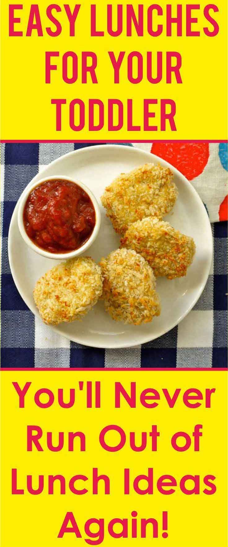 Lunch Ideas for Toddlers. You'll Never Run Out of Lunch Ideas Again! images