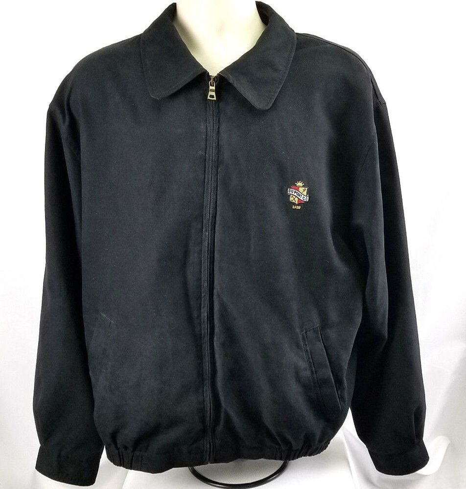 Cutter Buck Dupont Cc Mens Xl Full Zip Jacket Faux Suede Black Euc Cutterbuck Mens Golf Outfit Golf Outfit Hoodies