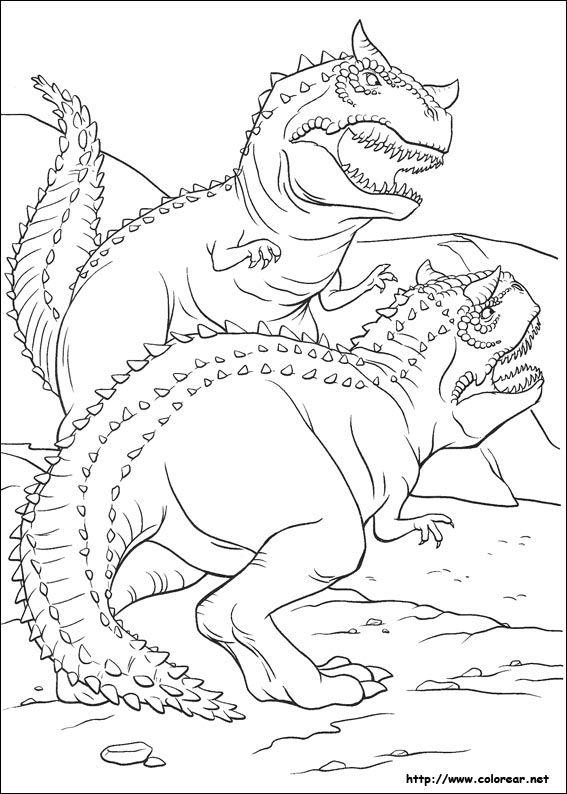 Dibujos para colorear de Dinosaurio   Imprimir para yaya o nenes ...
