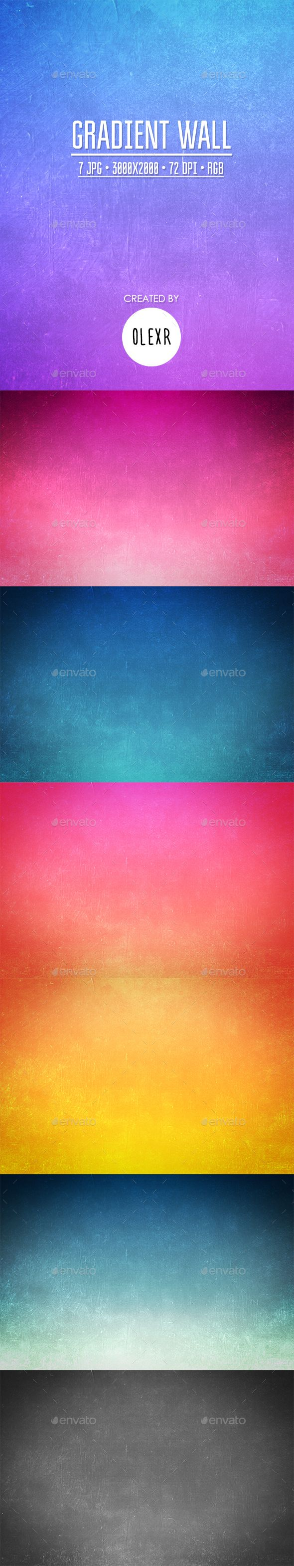 Gradient Landscape I Wall mural in 2020 (With images