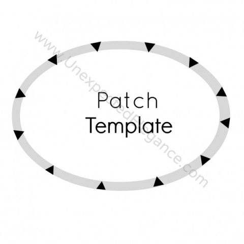 Easy Way to Add Elbow Patches to Your Wardrobe | Patches, Template ...