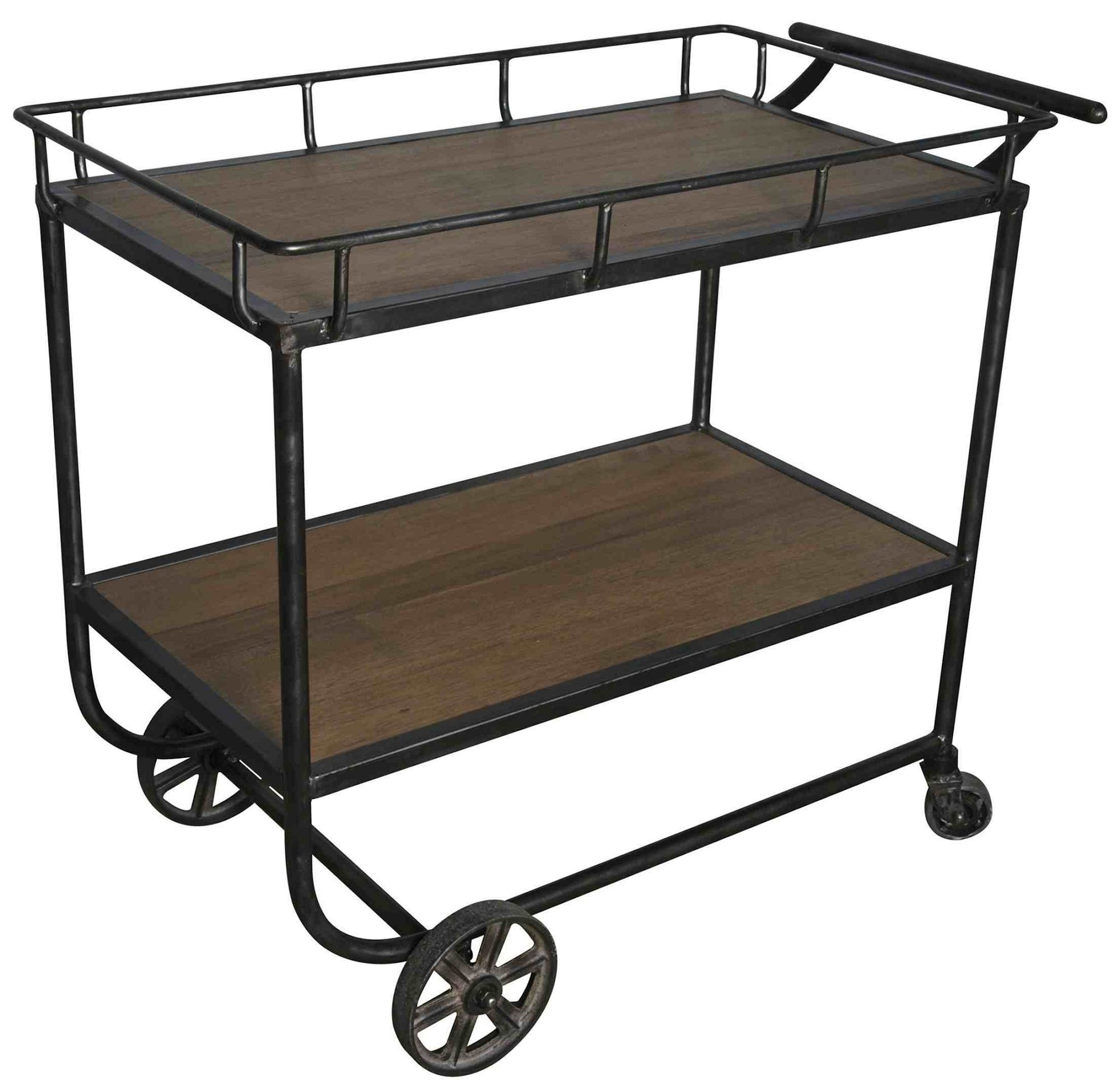 Vintage Metal Kitchen Cart Vintage Reproduction Metal And Reclaimed Wood Dolly Sonoma