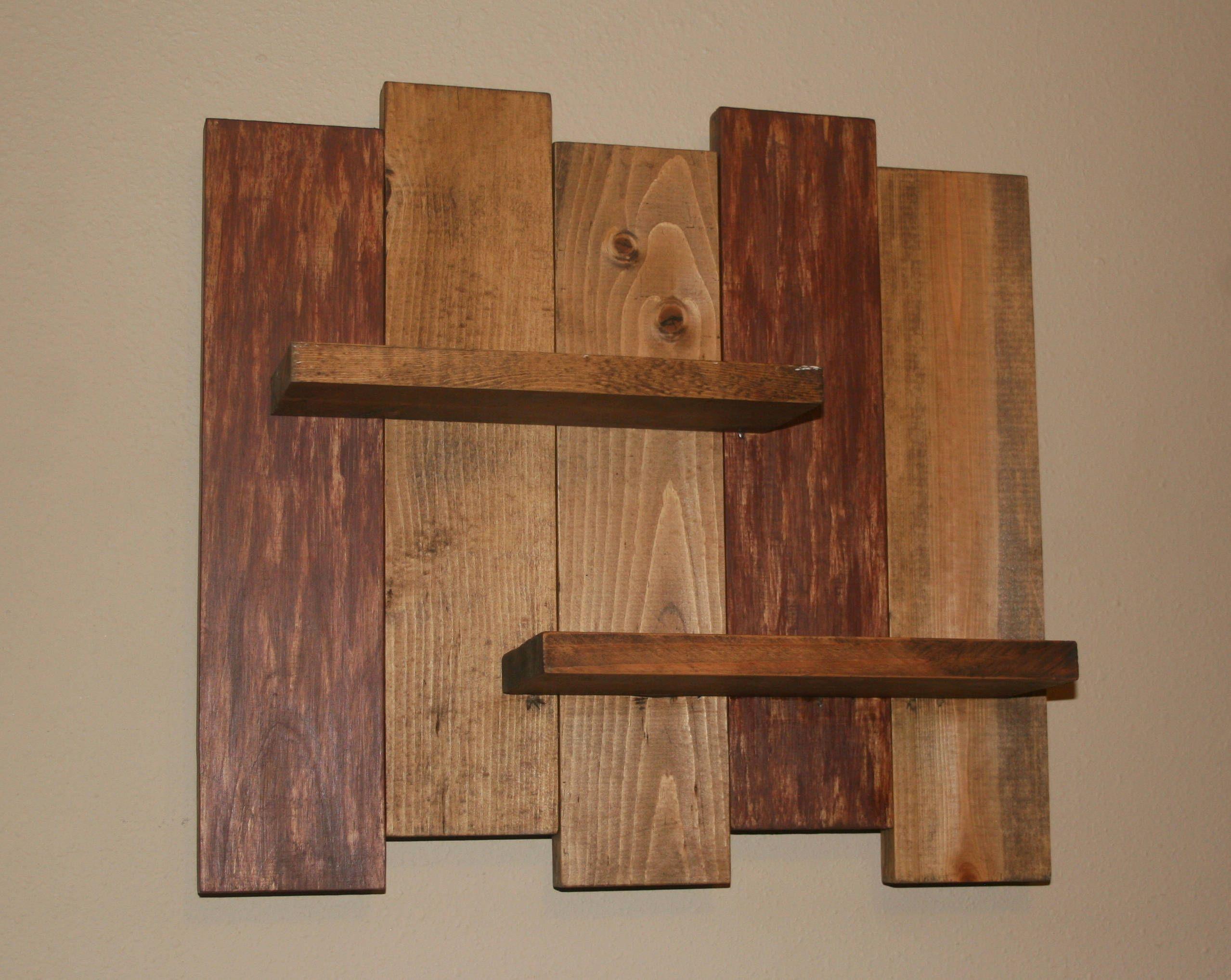 Rustic Wood Wall Shelf Reclaimed Wood Shelf Distressed Pallet Wood Primitive Home Decor W Wood Wall Decor Diy Rustic Wood Wall Decor Wood Wall Art Decor