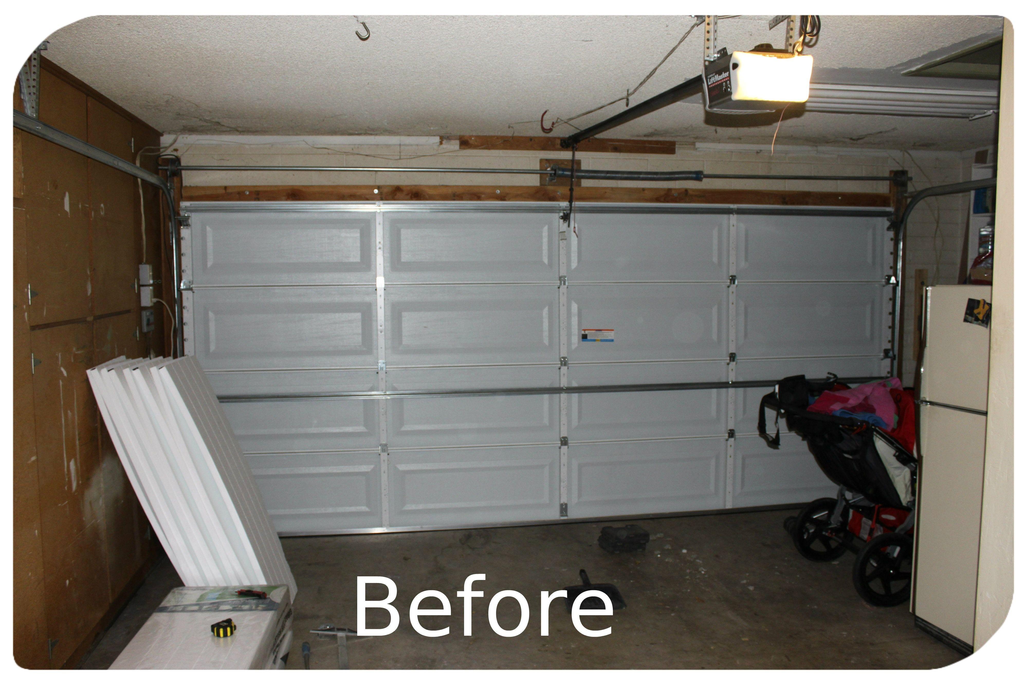x garage door insulation kit voteno