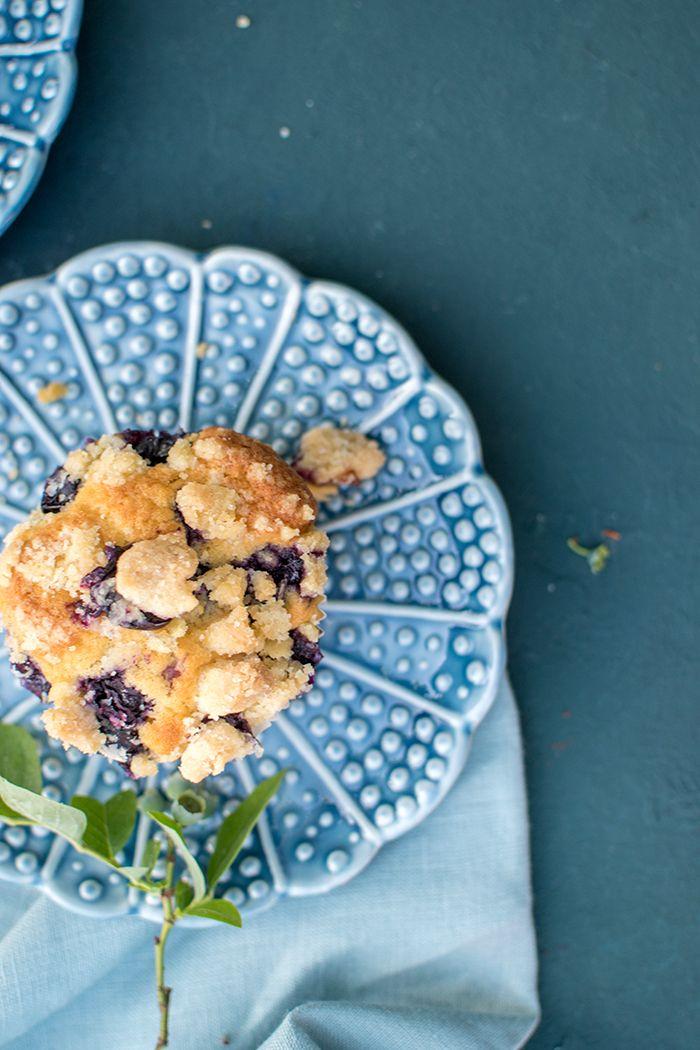 blaubeermuffins mit streusel sonntagsglück to go recipe