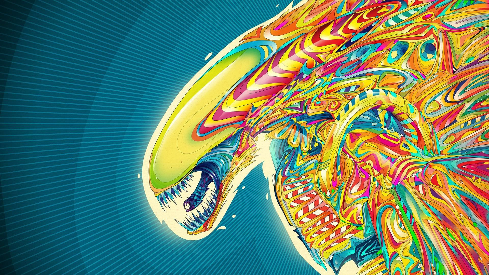 Backgrounds Desktop Abstract Psychedelic Wallpapers