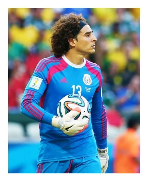 Guillermo Memo Ochoa Mexico National Goalie Wc Brazil 2014 Guillermo Ochoa Mexico Soccer Soccer Players