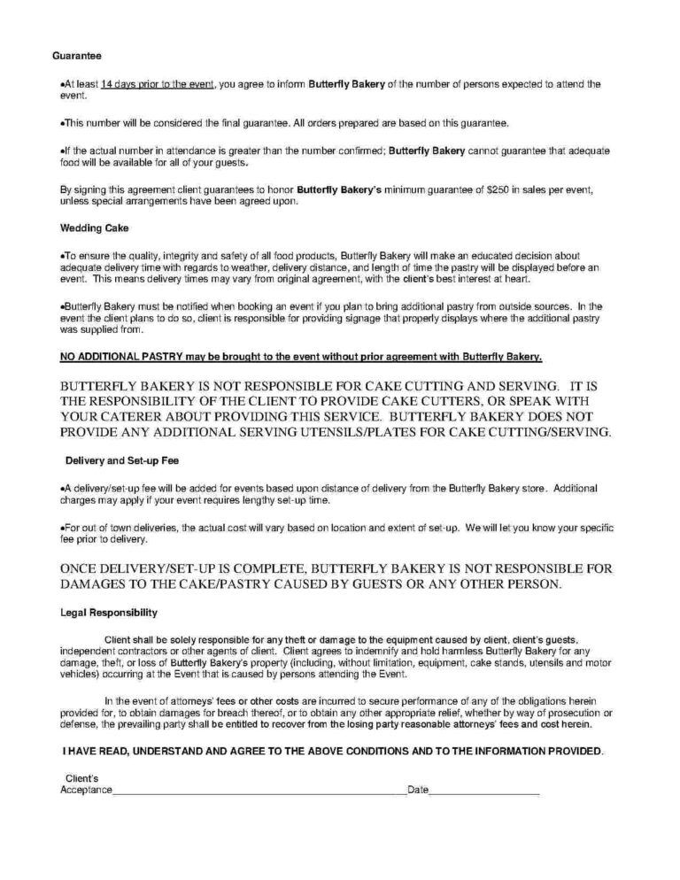 Download Catering Contract Style 13 Template For Free At With Catering Contract Template Word Cume Contract Template Business Template Professional Templates