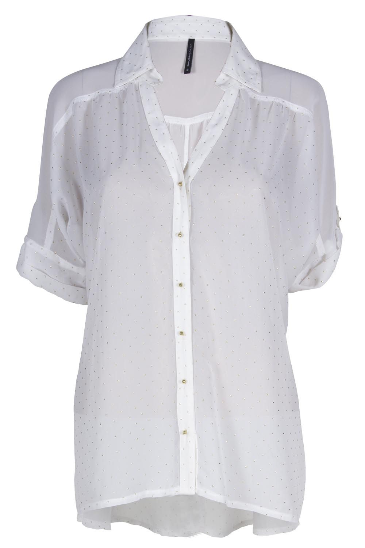 Blusa blanca hermosa