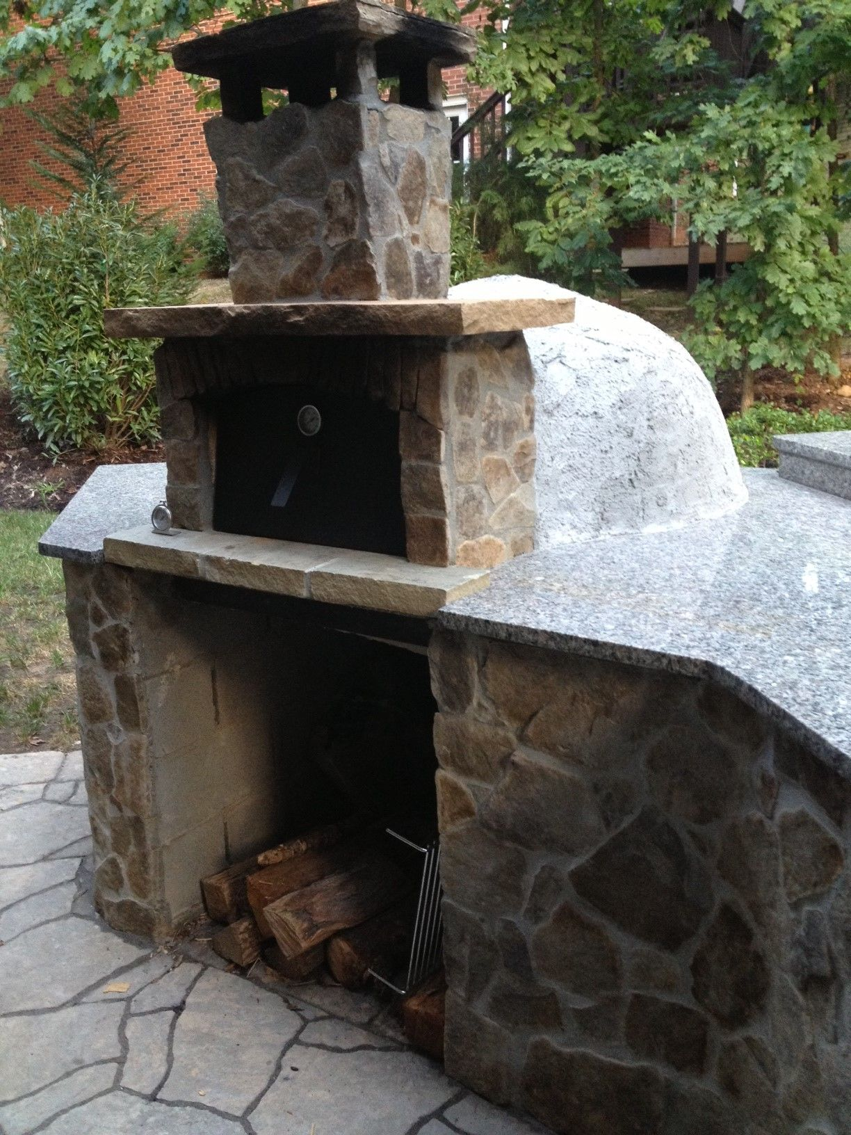 Outdoor wood fired oven volta oven kit wood fired pizza ovens